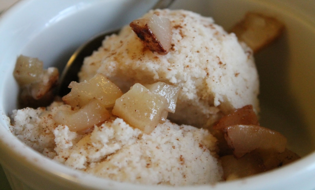 Pear Dunkers With Cashew-Cinnamon Yogurt Sauce Recipes — Dishmaps