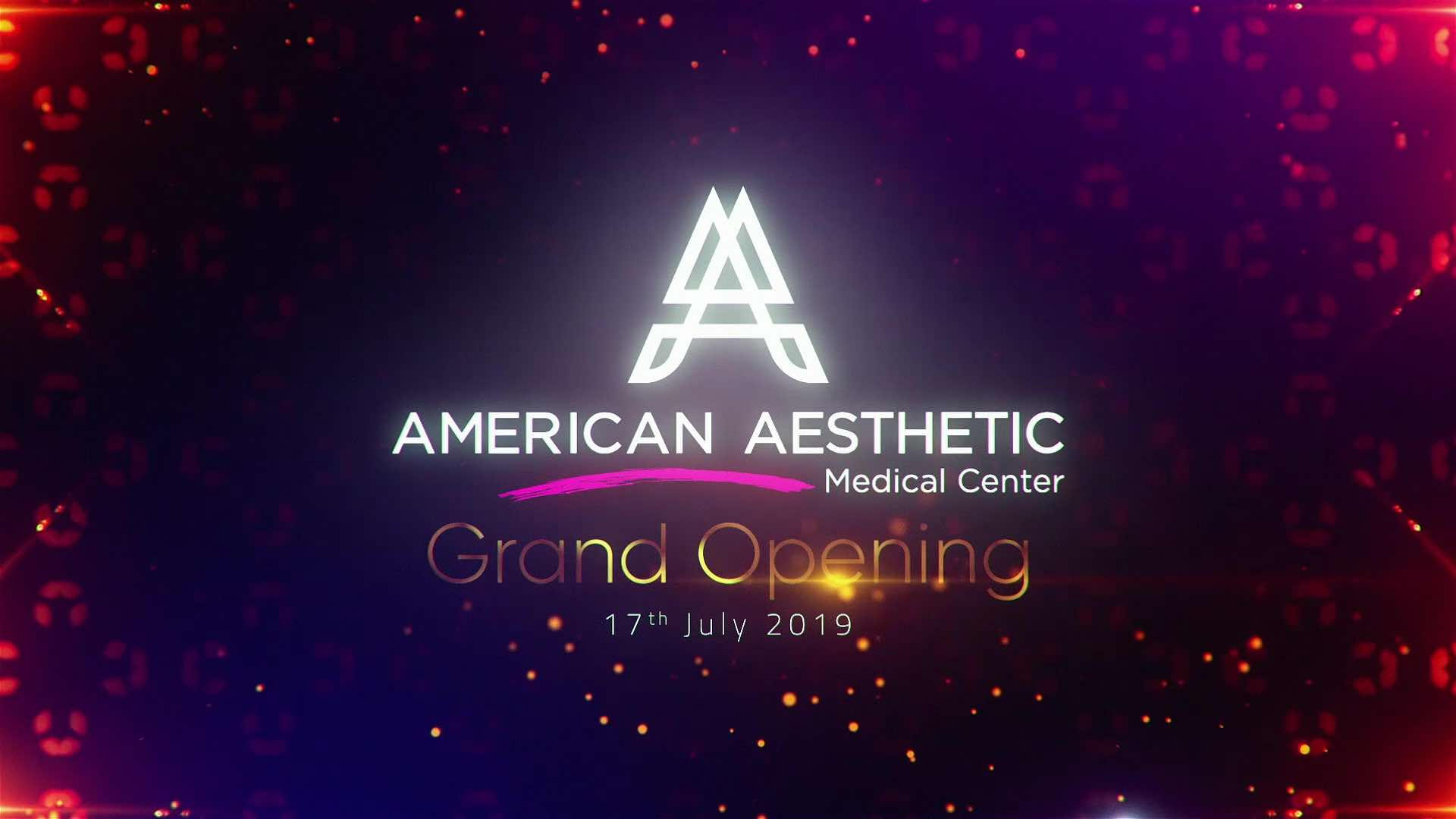 American Aesthetic Medical Center Inauguration