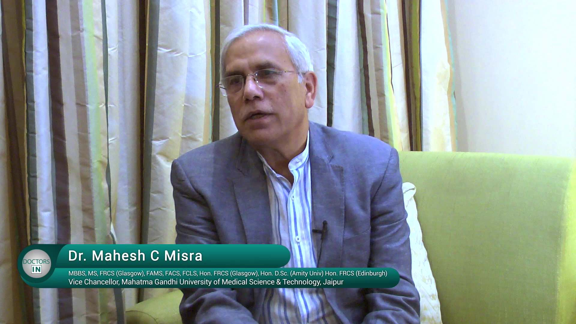Doctors IN_Dr. M.C. MISRA_Laparoscopy_Part-2