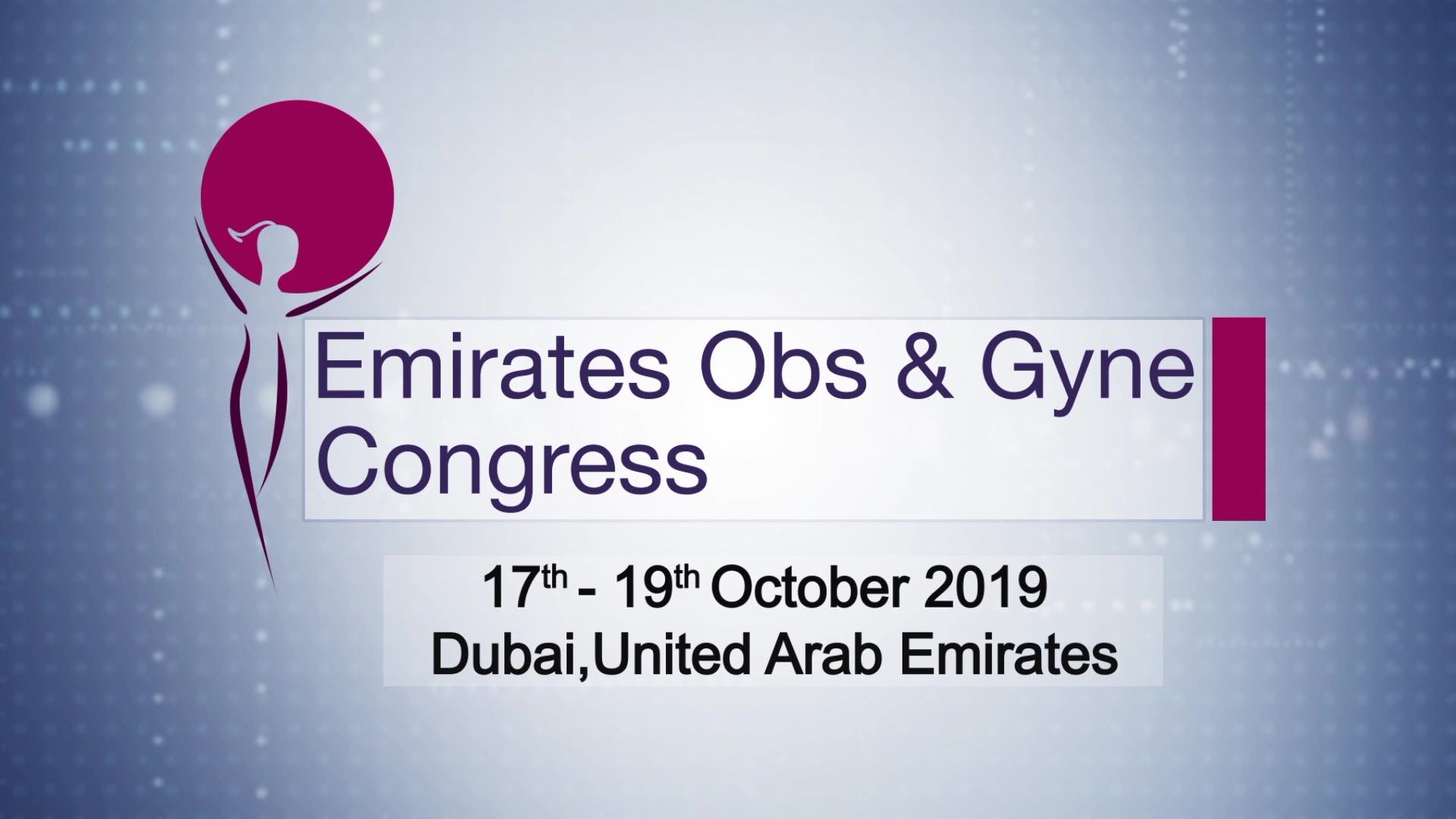 Emirates Obs & Gyne Congress Dubai 2019