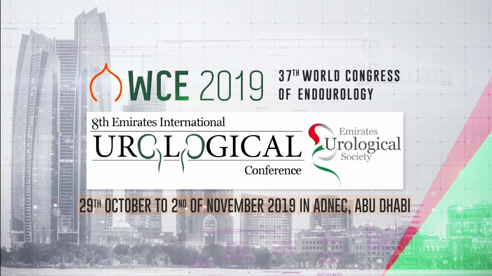Emirates Urological Society_WCE 2019